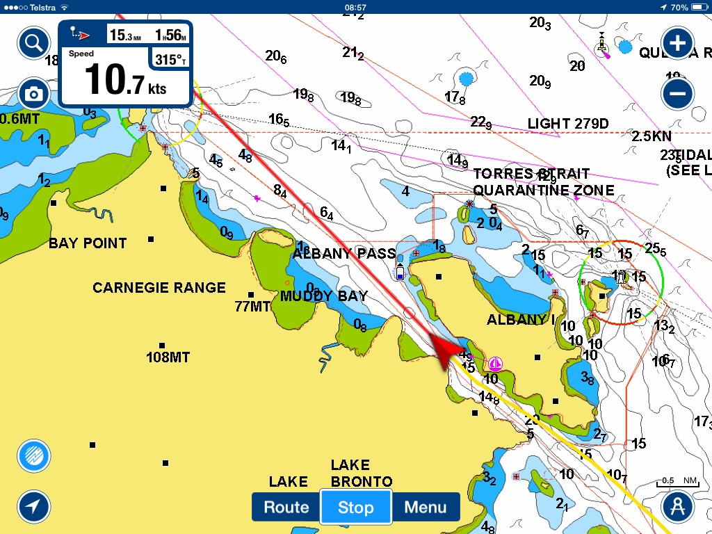 Tracking updates laragh 39 s voyage for Navionics fishing app