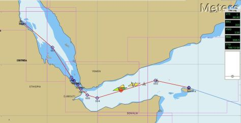 Gulf of Aden and into the Red Sea | Laragh\'s voyage